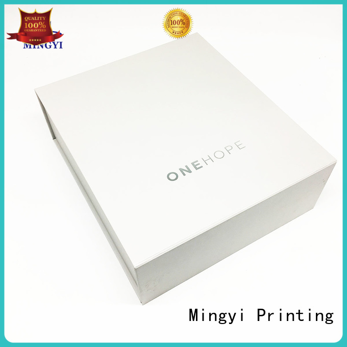 Mingyi Printing Brand valuable luxury packaging watch gift box
