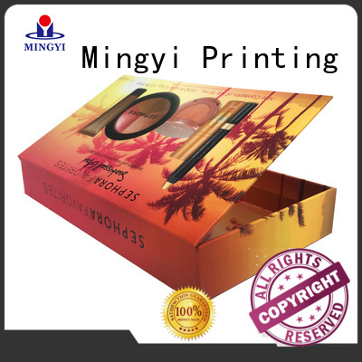 Quality Mingyi Printing Brand hard gift boxes ceremony souvenirs