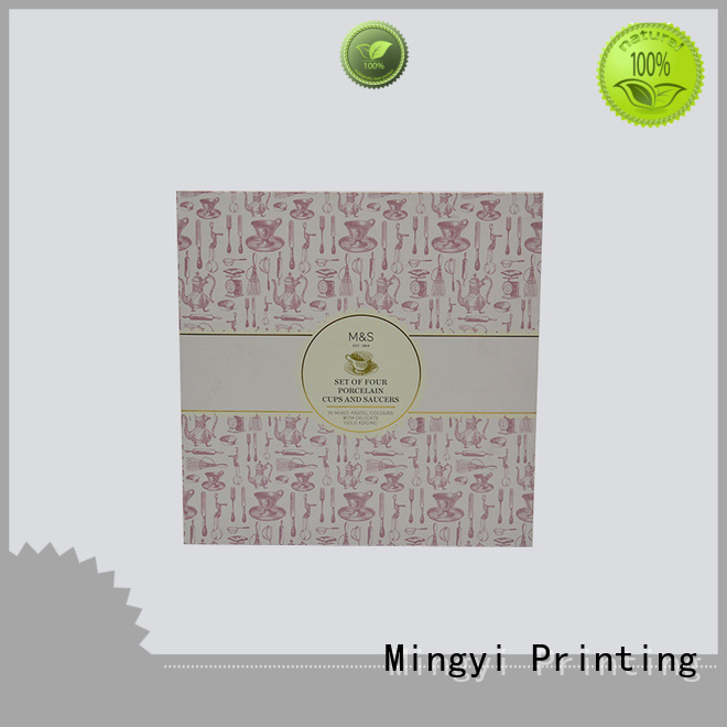 Mingyi Printing Brand products flocking candle package luxury packaging boxes