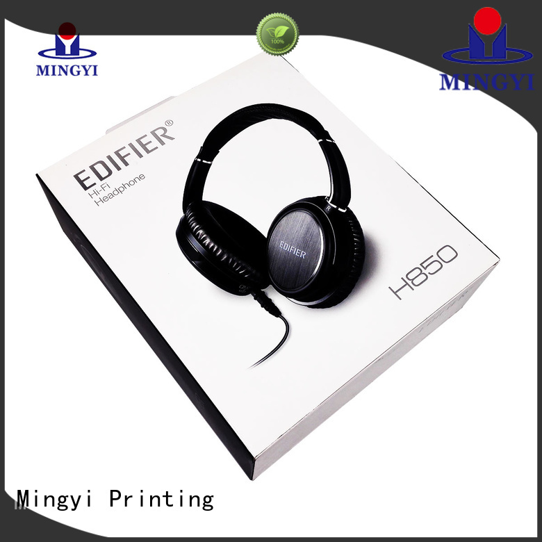 electronics hard gift boxes design padding Mingyi Printing Brand