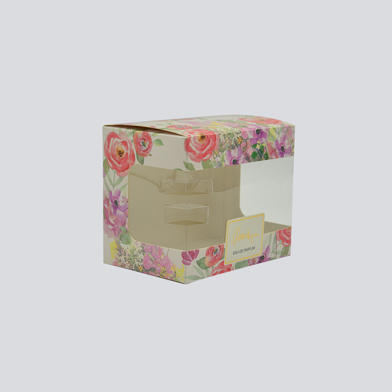 Mingyi Printing Attractive cosmetics/luxury commodity packaging box with PET window Color Packaging Box image9