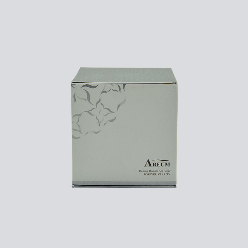 Cosmetics box with rigid lid/bottom and flocking EVA set