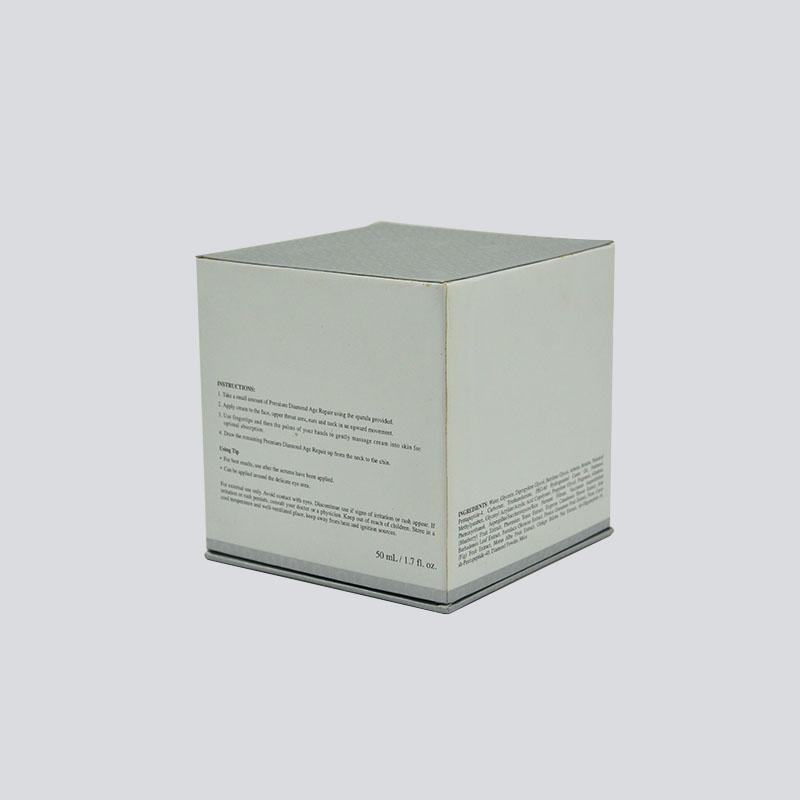 Cosmetics box with rigid lid/bottom and flocking EVA set
