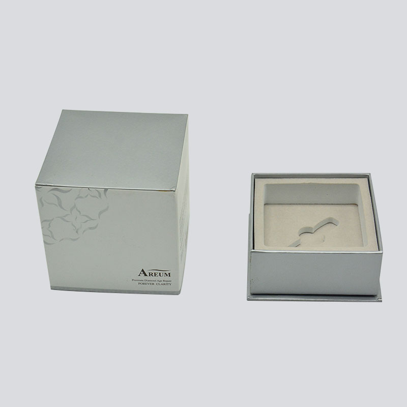 Mingyi Printing Cosmetics box with rigid lid/bottom and flocking EVA set Color Packaging Box image7
