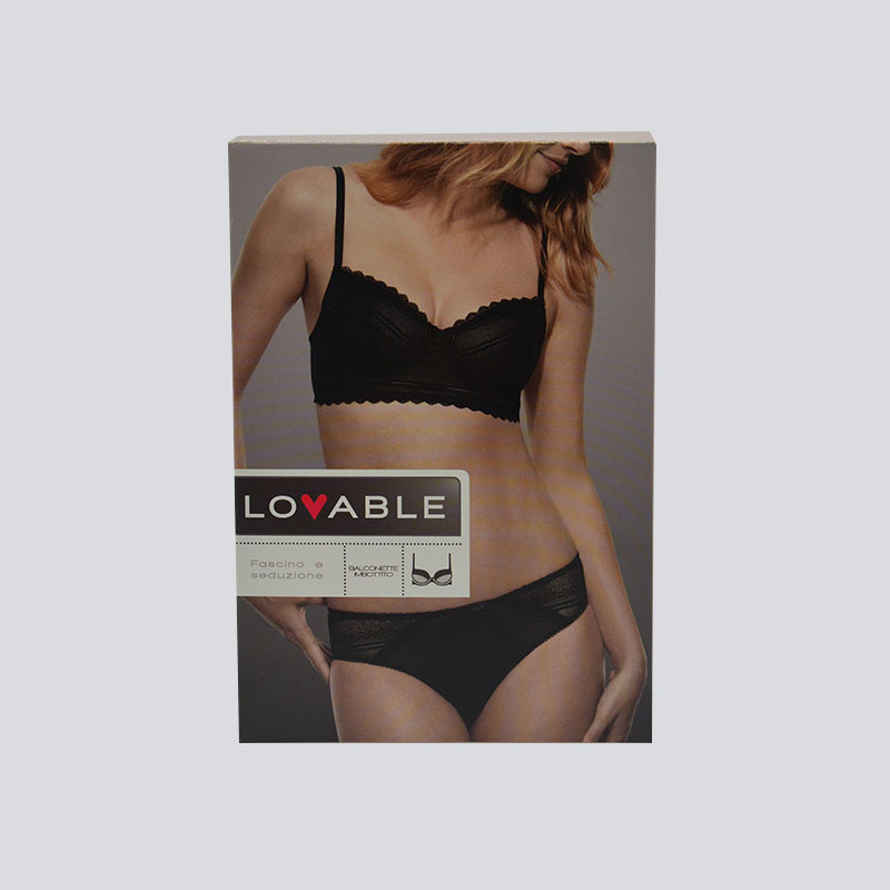 Attractive color box packaging for underwear/clothing