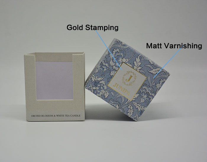 stamping coloured packaging boxes artistic candle Mingyi Printing Brand
