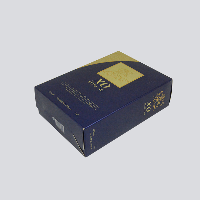 Mingyi Printing Luxury alcohol Packaging with gold foil Stamping craft Color Packaging Box image3