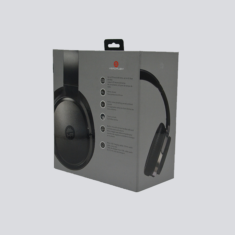 Electronics PET +EVA Base Gift Boxes