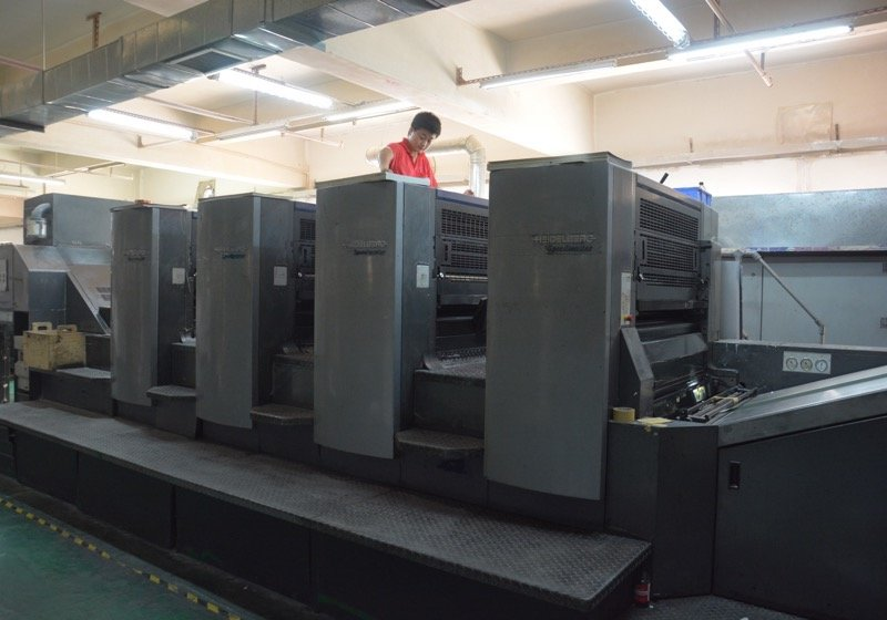Heidelberg 4C CP2000 Printing Machine