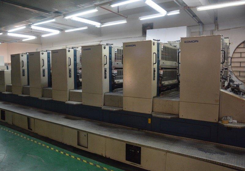 Komori 6C Printing Machine, No.L28HKONE
