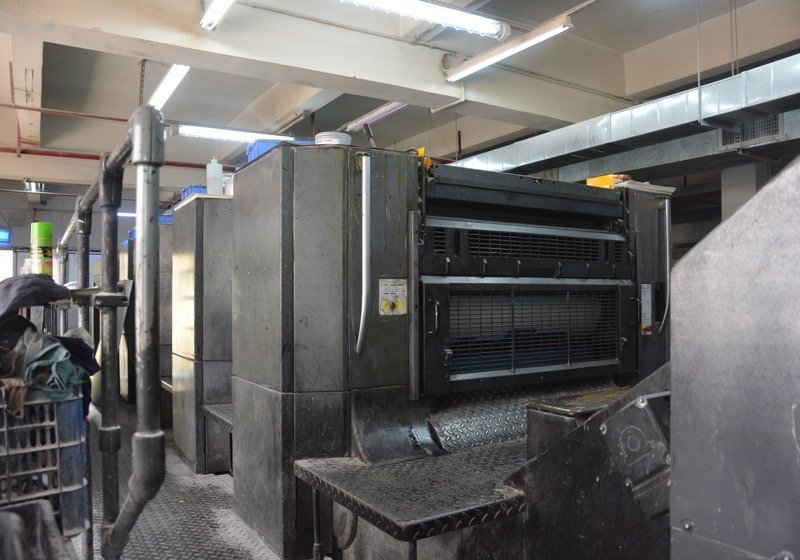 Komori 6C Printing Machine, No.L640