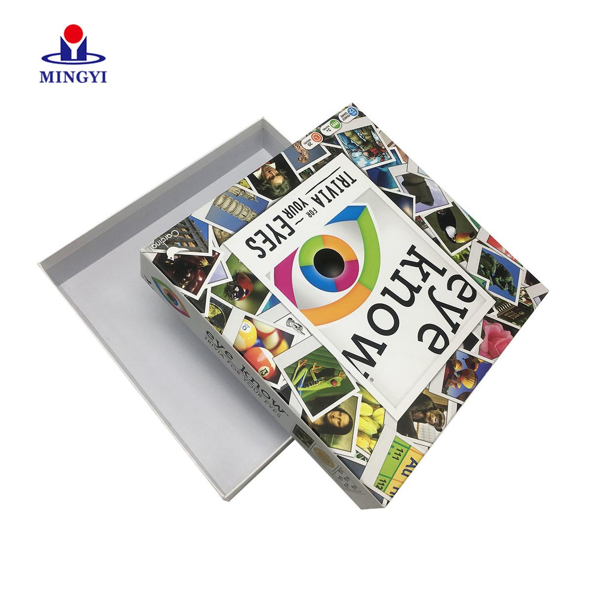 Creative customized design luxury cardboard photo photography gift packaging box