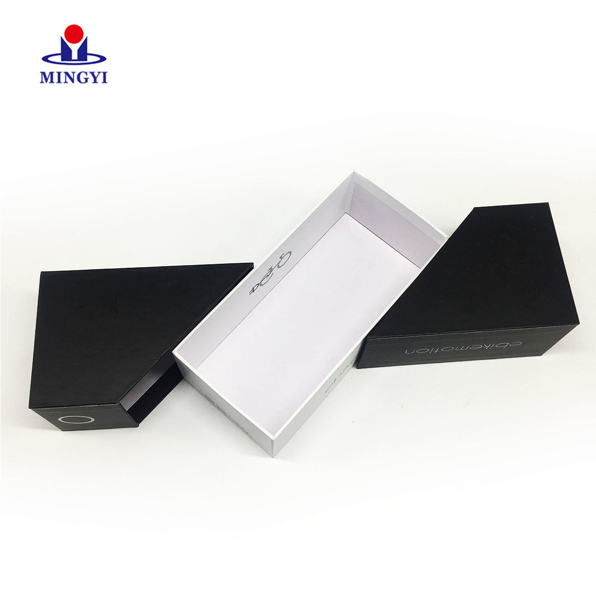 Cardboard gift box with double lid