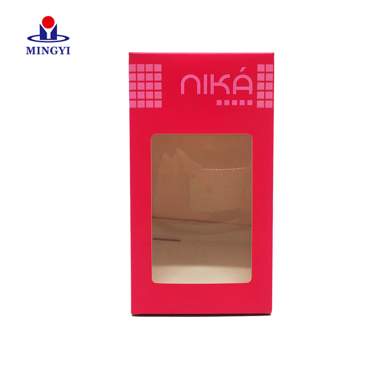 Cosmetic paper gift packaging box