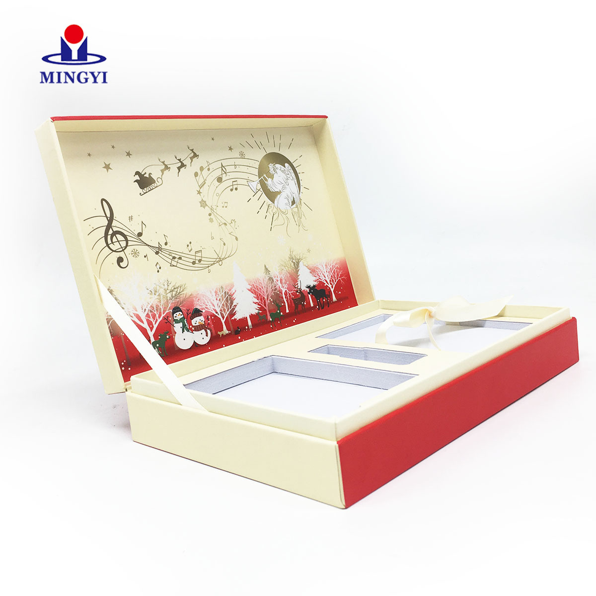 Wholesale magnetic wooden watch gift box Mingyi Printing Brand
