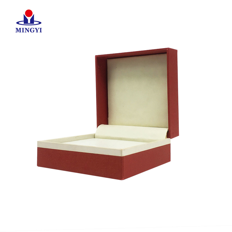 Luxury jewelry clam shell gift packaging box custom logo make in Dongguan china