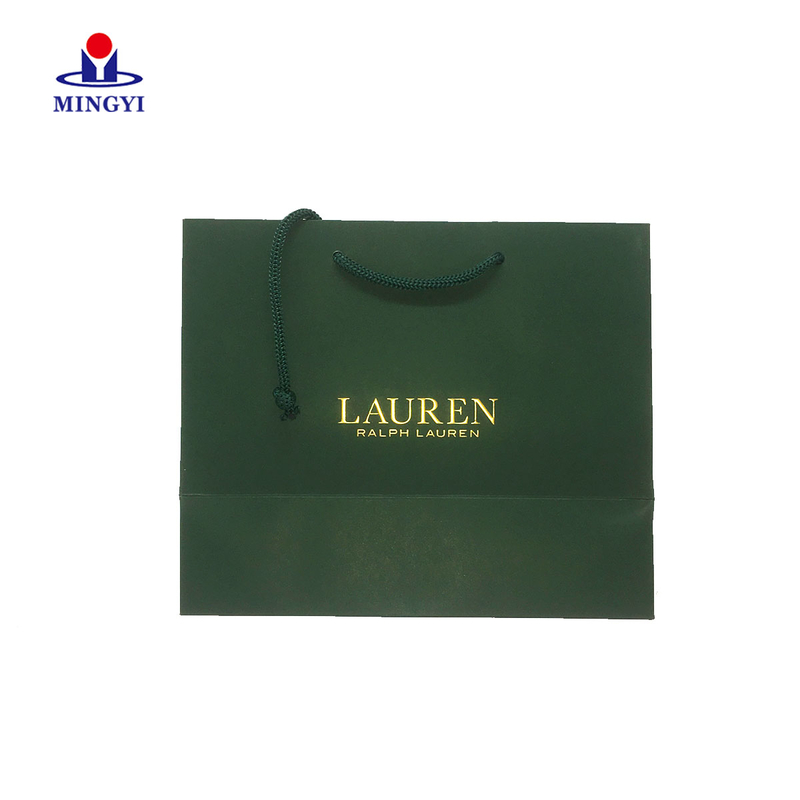 New design custom shopping  paper bag with logo print