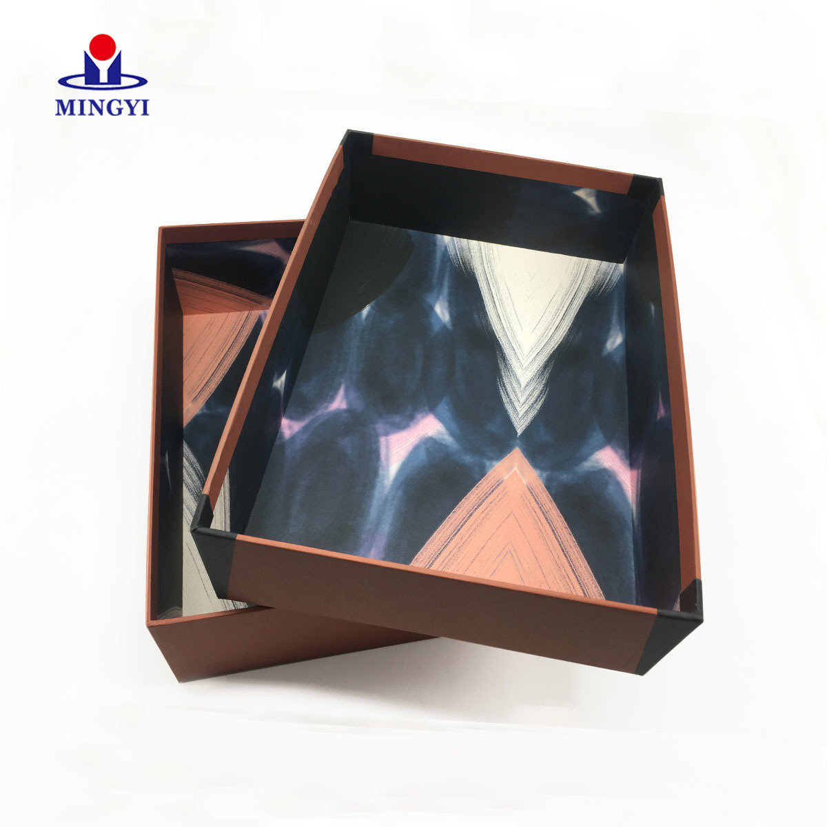 2019 new design custom shoe packaging box with lid design