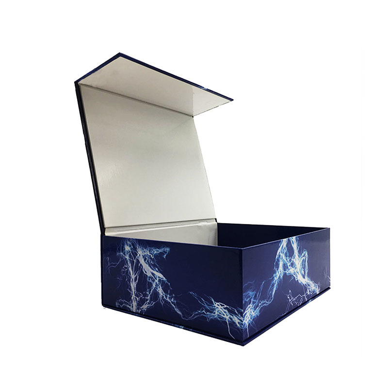 Custom 2019 new design clam shell gift packaging box for electric toys