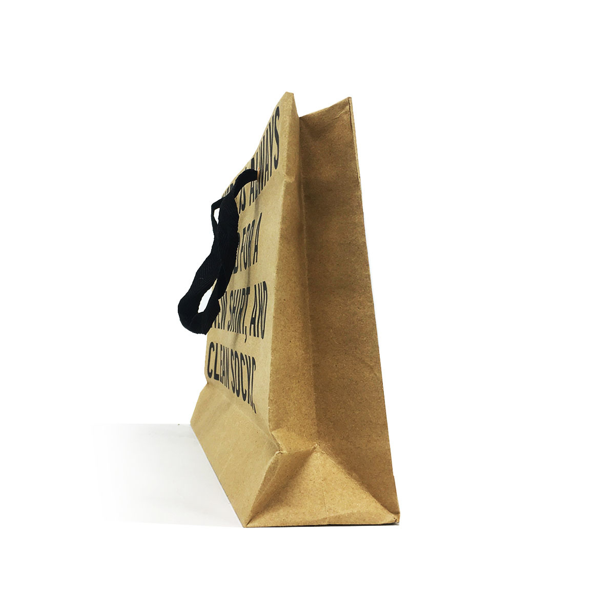 China suppliers 2019 new design customized kraft paper bag shopping with logo print
