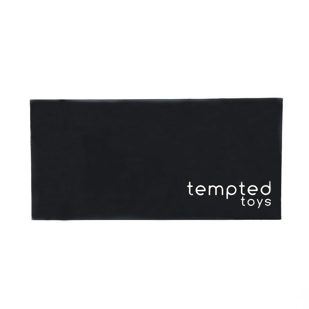 Black customized clam shell electronic packaging boxes with nylon string and EVA foam