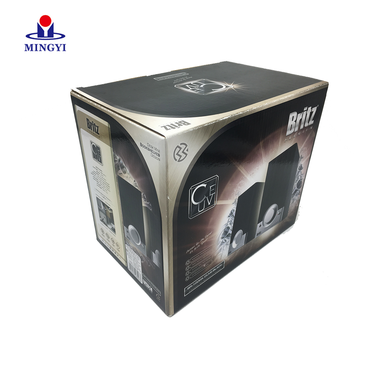 Customized cheap corrugate packaging box with lid plug