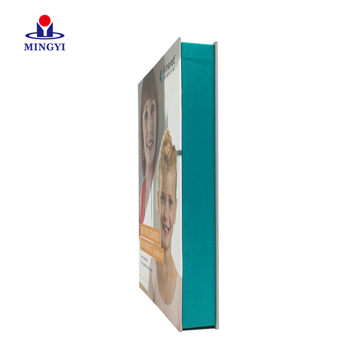 New custom luxury paper cardboard packaging box clamshell and flat shape