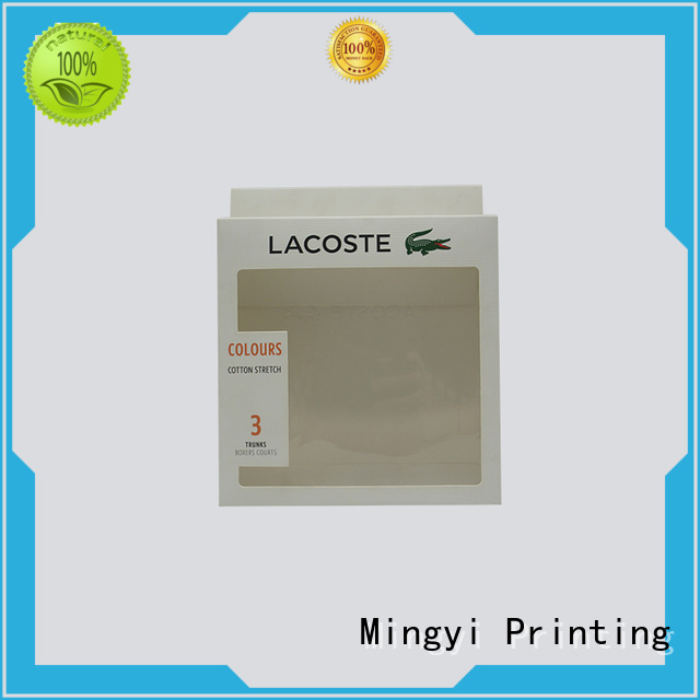 Wholesale attractive lid bottom luxury packaging boxes Mingyi Printing Brand