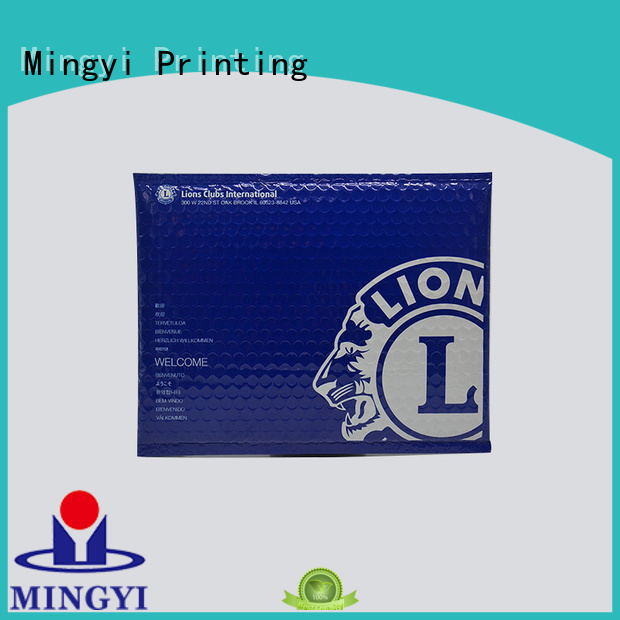 customized luxury order sticker labels bubble pack Mingyi Printing company