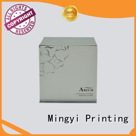 windows diffuser cosmetic luxury packaging boxes underwear clothing Mingyi Printing Brand