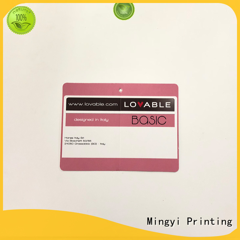 specification best quality custom made labels tag ribbon Mingyi Printing Brand