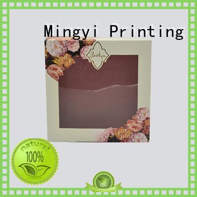 luxury flocking luxury packaging boxes Mingyi Printing Brand