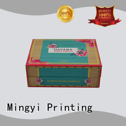 trophy luxury padding window watch gift box Mingyi Printing