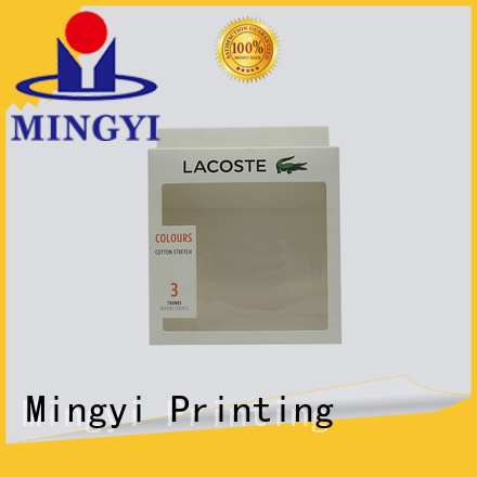 stamping silver luxury packaging boxes foil Mingyi Printing Brand