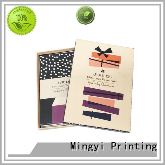 coloured packaging boxes eva package flocking Mingyi Printing Brand