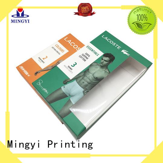base valuable Mingyi Printing Brand hard gift boxes factory