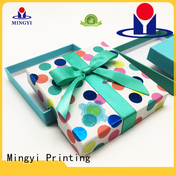 hard gift boxes luxury watch gift box Mingyi Printing Brand