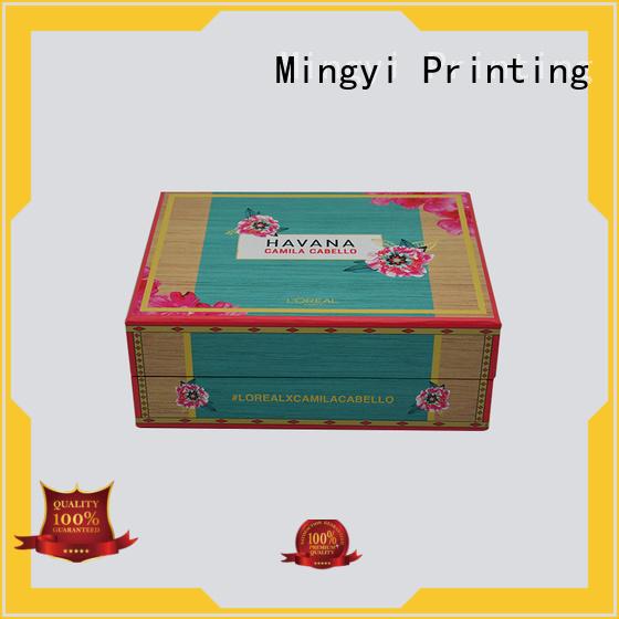 Quality Mingyi Printing Brand clothing daily eva watch gift box