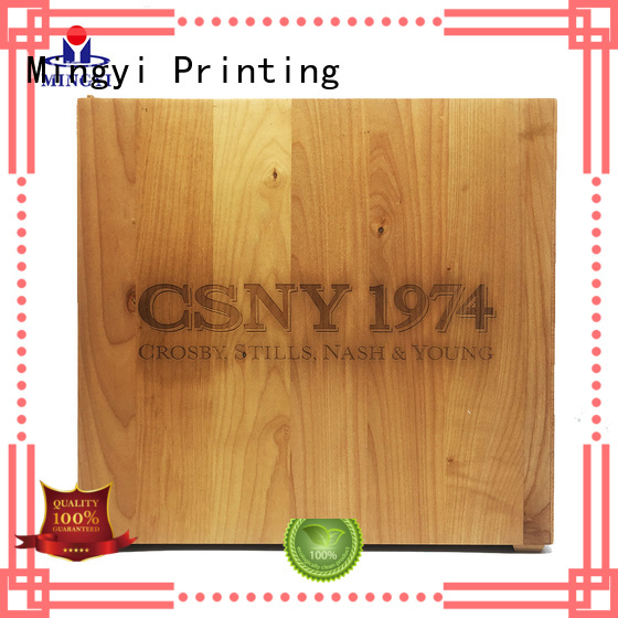 Mingyi Printing Brand cosmetics luxury hard gift boxes clothing daily supplier
