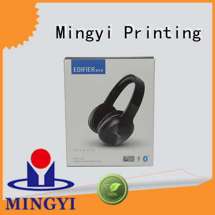 standard paper Mingyi Printing Brand coloured packaging boxes