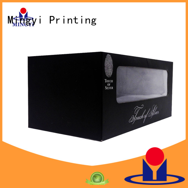Mingyi Printing Brand attractive alcohol lid bottom luxury packaging boxes manufacture