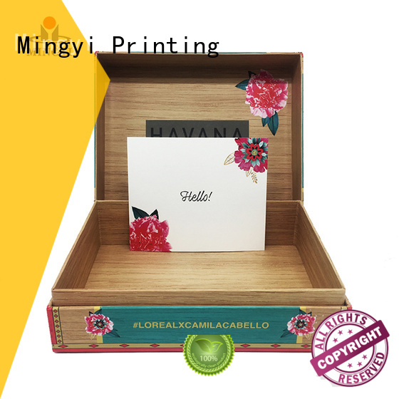 hard gift boxes window customized watch gift box manufacture