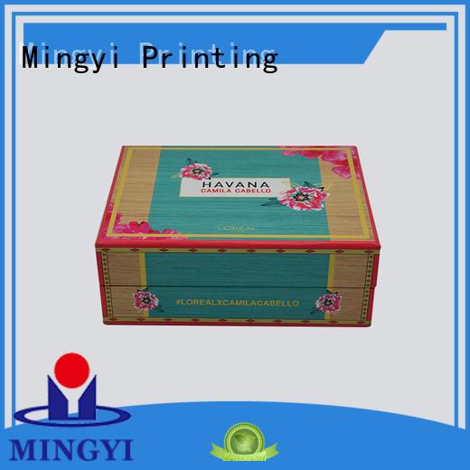 Hot trophy watch gift box standard cosmetics Mingyi Printing Brand