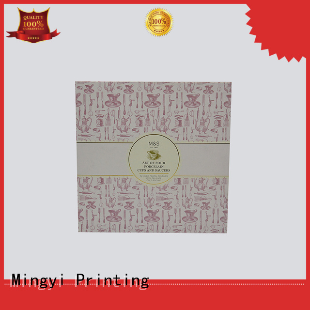 Wholesale gold luxury packaging boxes Mingyi Printing Brand