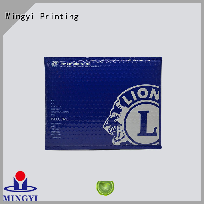 bubble pack daily commodities Mingyi Printing Brand order sticker labels