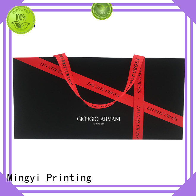 Mingyi Printing Brand specification ribbon custom made labels