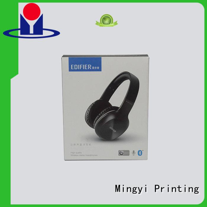 luxury earphone alcohol luxury packaging boxes Mingyi Printing Brand