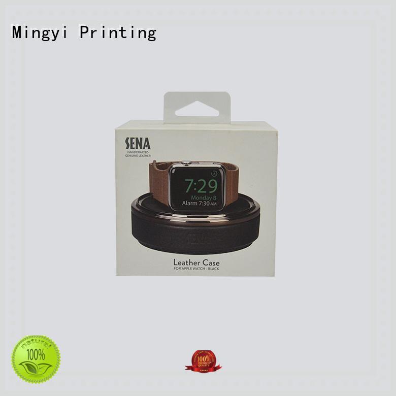 alcohol eva standard OEM watch gift box Mingyi Printing