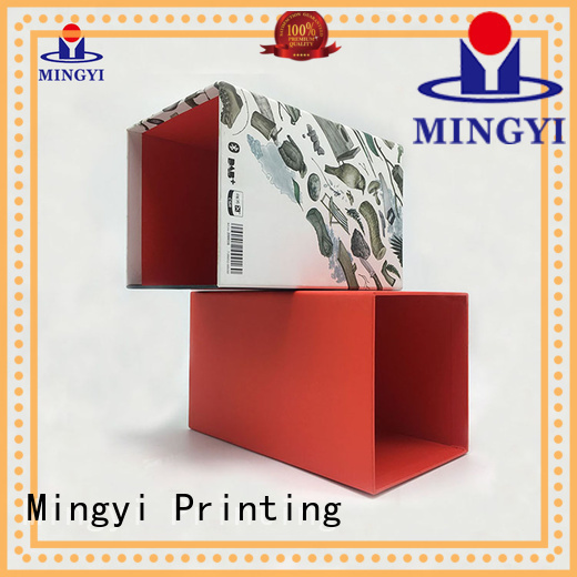 luxury hard gift boxes pvc base Mingyi Printing Brand