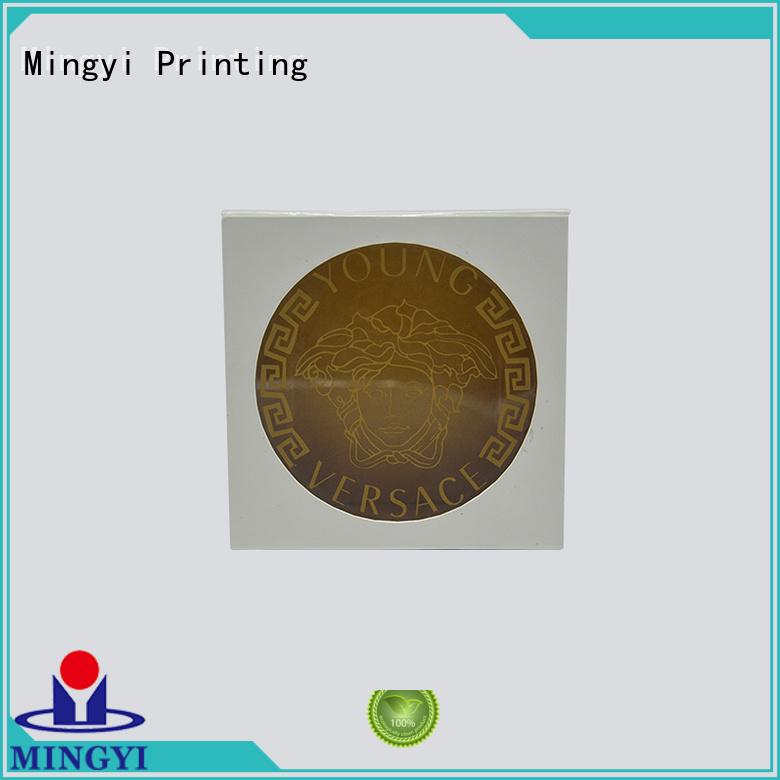standard valuable base window watch gift box Mingyi Printing